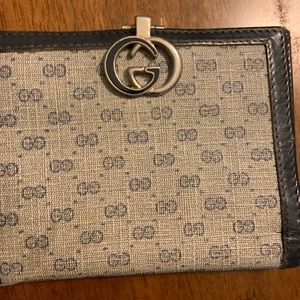 Vintage Gucci French wallet